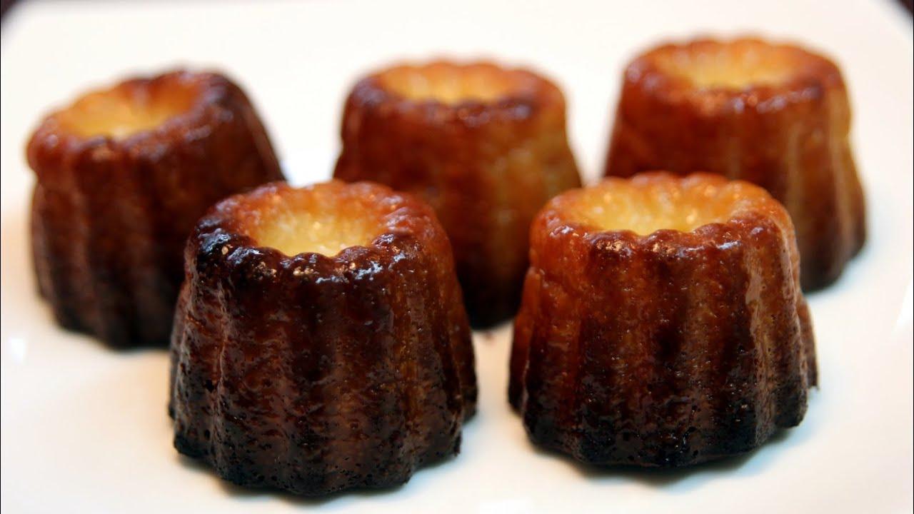 Canelés De Bordeaux French Custard Mini Cakes Recipe Cookingwithalia Episode 338 You