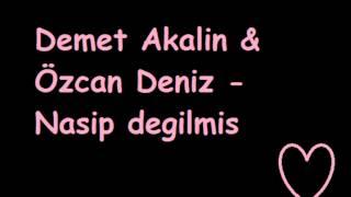 Demet Akalin Özcan Deniz Nasip Degilmis 2012