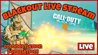 LIVE STREAM | NEW BLACKOUT LIVE STREAM Call of Duty Blackout ps4 gameplay Journey to 100 subs
