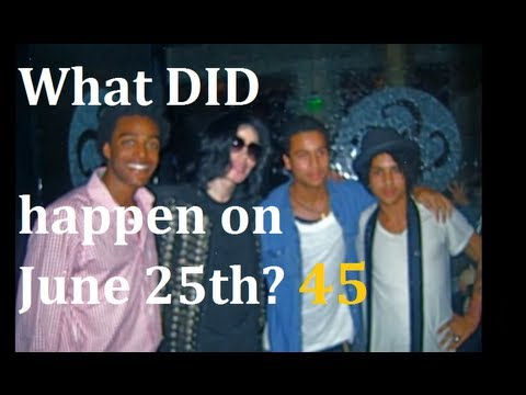 """What DID happen (to Michael Jackson) on June 25th? Pt 37 """"May 2009: Beverly Hills meeting and Idols"""""""