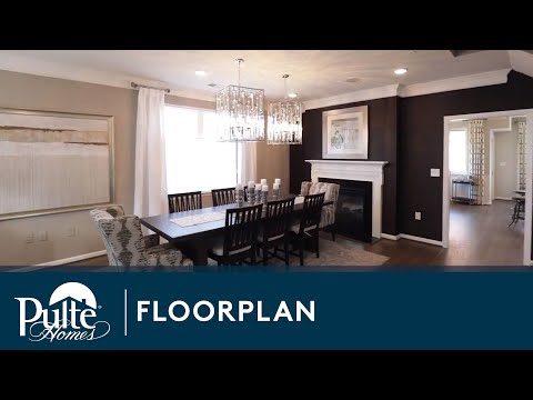 New Homes by Pulte Homes – Saratoga Floorplan