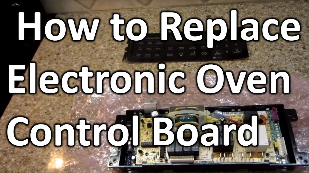 hight resolution of how to replace electronic oven control board