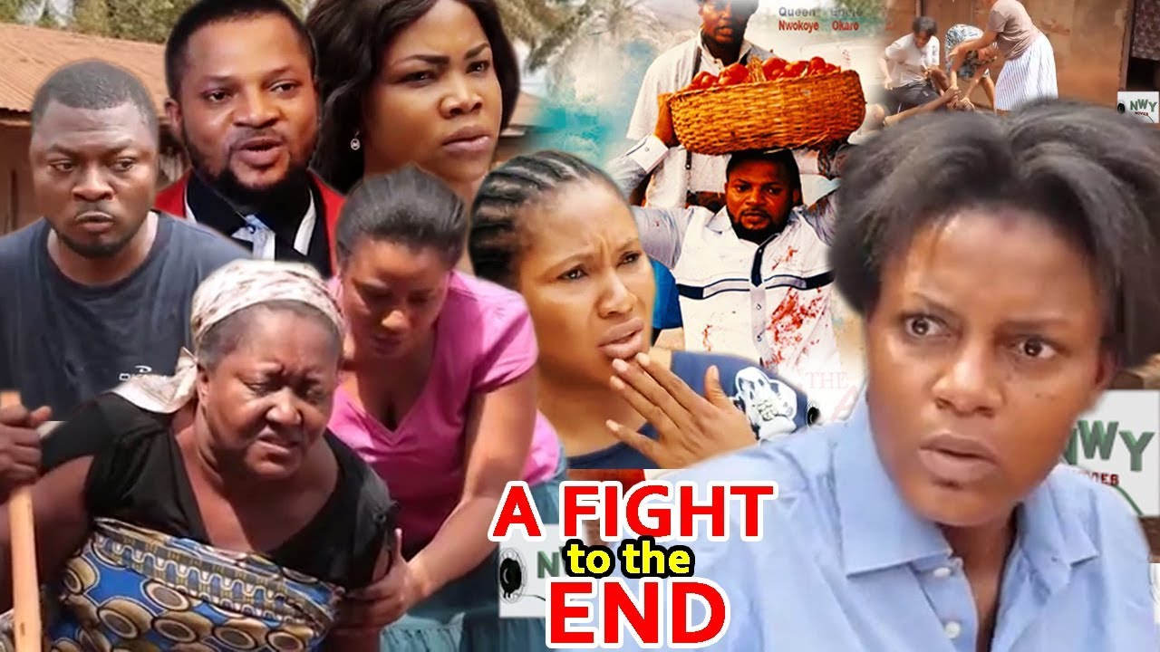 Download A Fight To The End 1&2 - 2018 Queen Nwokoye Latest Nigerian Nollywood Movie//African Movie