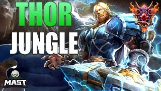 Thor Jungle Gameplay   Diamond 5   The SPL Start! - SMITE Ranked Conquest