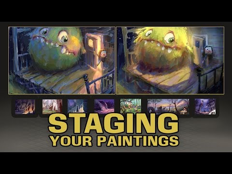 Staging Your Paintings
