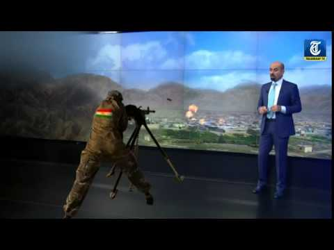 Special news broadcast from rudaw tv in Dutch newspapers