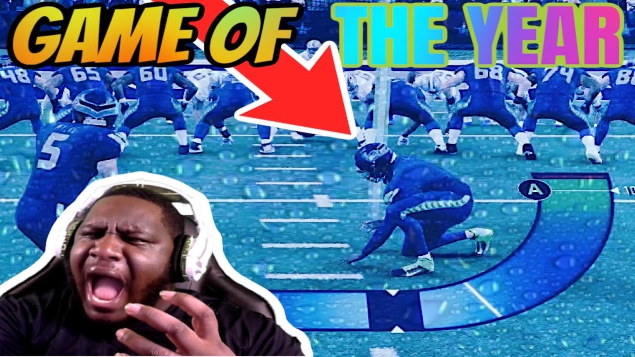 MADDEN 20 BRINGS OUT THE WORSE RAGE IN YOU!! YOU CANT PLAY GOOD ANGRY LOL
