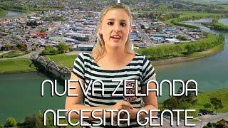 Nueva Zelanda necesita gente para trabajar