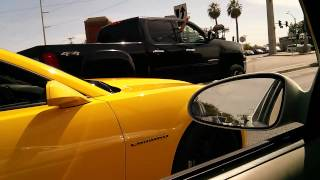 2013 camaro v6 straight pipe parking garage