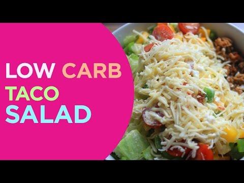 Keto Taco Salad | LowCarb Lunch Quick 'n Yummy