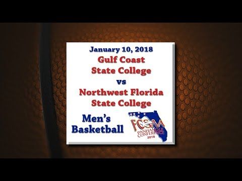 Panhandle Conference 2018 - GCSC @ NWFSC - January 10, 2018 - Men's Basketball