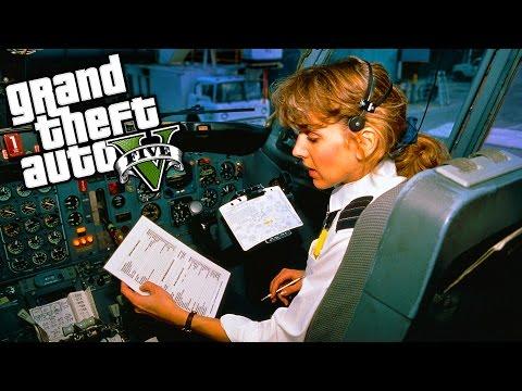 GTA 5 GERÇEK HAYAT !!! - Uçak Eğitimi! #8