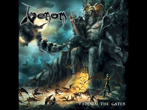 "VENOM announce new album ""Storm The Gates"" artwork/tracklist unveiled..!"