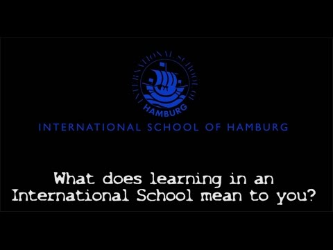 ISH Students on International Education
