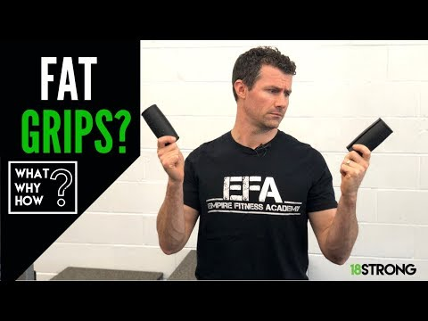 Fat Grips. Better Grip Strength. Less Elbow Pain. No More Golfer's Elbow. (WHAT? WHY? HOW?)