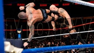 FULL-LENGTH MATCH - Raw 2013 - Randy Orton vs. CM Punk vs. Big Show vs. Sheamus