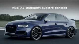 audi a3 clubsport quattro concept trailer