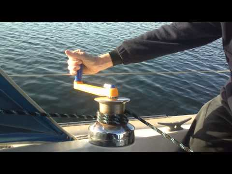 Winch Handle Floating