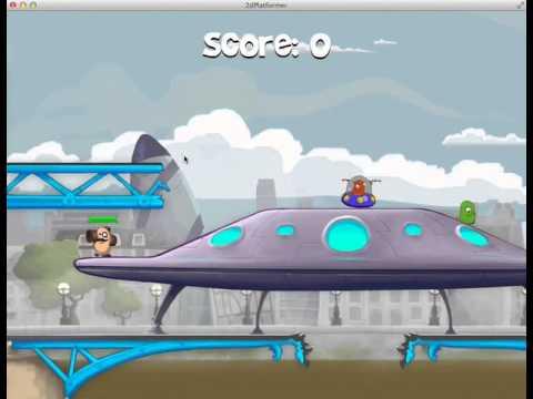 2d platformer game music GCP