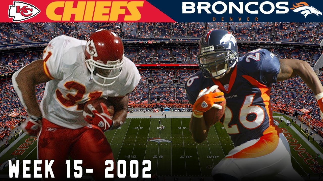 The Rumble In The Rockies Chiefs Vs Broncos 2002 Nfl Vault Highlights Youtube