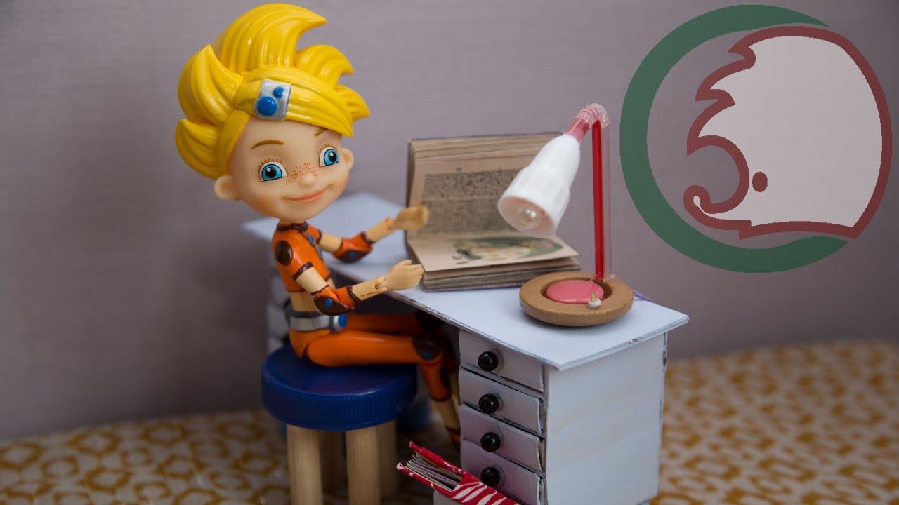 Как сделать лампу для кукол
