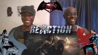 Batman v Superman: Dawn of Justice - Comic-Con Trailer - REACTION!!!