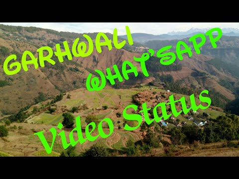Chal puja twete ghumolu apra gou ma ( Garhwali what'sApp video status) | SG