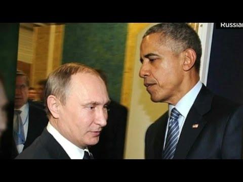 Putin and Obama hold tense talks at Paris summit