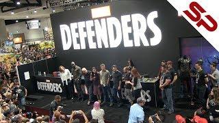 "Актёры сериала ""Защитники"" на Comic-Con 2017"