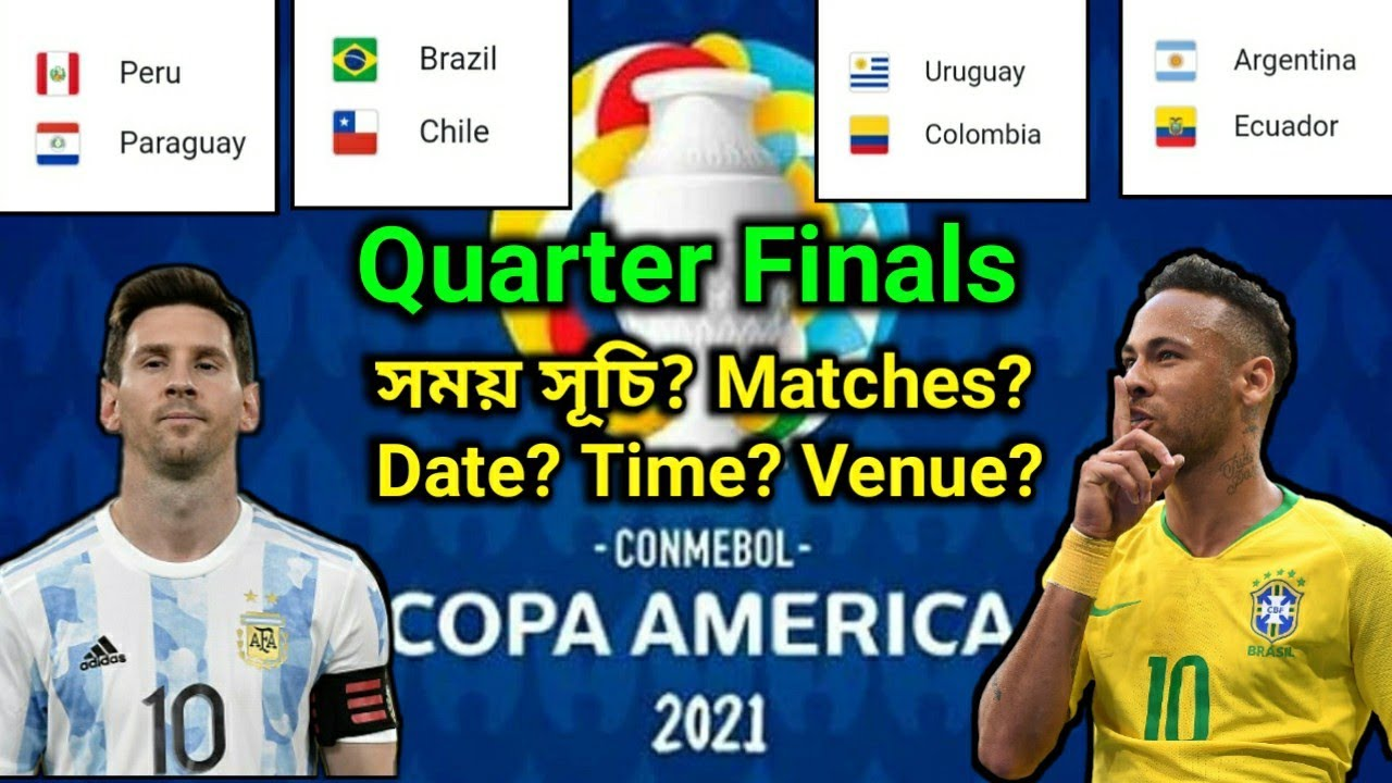 Copa America 2021: Argentina vs. Colombia Kickoff Time, How to ...