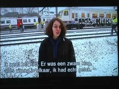 "15 FEB 2010 BELGIUM  HALLE BUIZINGEN ""TREINRAMP"" VRT-NIEUWS PART 2 - UPDATE 11.30H"