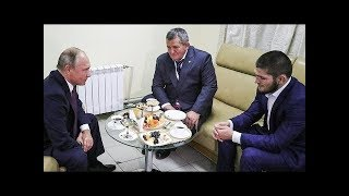 Vladimir Putin meets Khabib and his father to discuss Conor McGregor fight ( translated)
