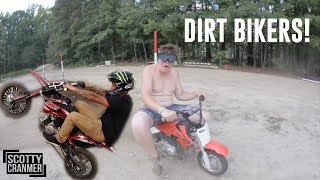 DIRT BIKING IS NOT FOR EVERYONE!