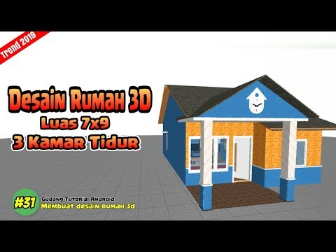 Desain Rumah Minimalis 3 Kamar Ukuran 7 9 Wild Country Fine Arts