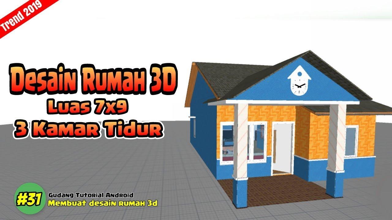 Desain Rumah Minimalis 3 Kamar Luas 7x9 Planner 5d Minimalis House 31 Youtube