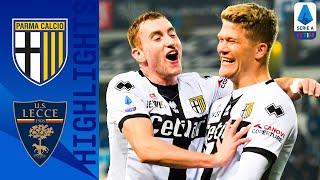 Parma 2 0 Lecce | Super Sub Cornelius Seals The 3 Points! | Serie A
