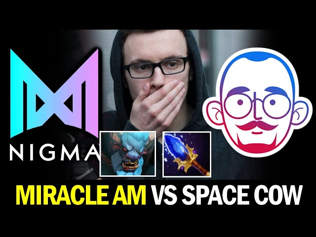 NIGMA vs 5MEN —  MIRACLE AM vs SPACE COW with Scepter