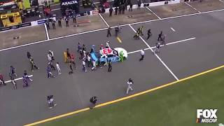 NASCAR Stars Push Fellow Driver Bubba Wallace In Act Of Solidarity  Respect &amp Emotional