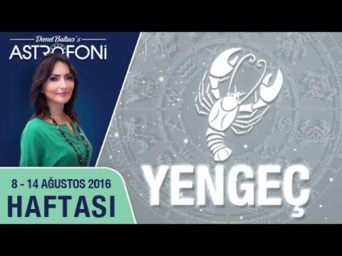 YENGEÇ Burcu Haftalık Yorumu 08 - 14 Ağustos 2016