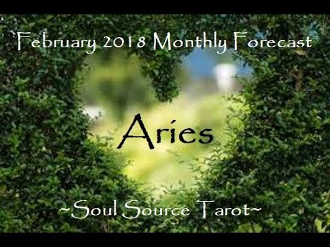 ~Aries~Break Time~February 2018 Monthly Tarot Reading~