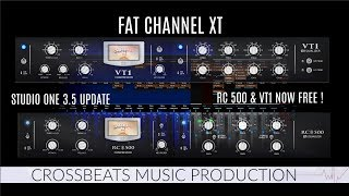 Studio One 3.5 Update | Fat Channel Collection