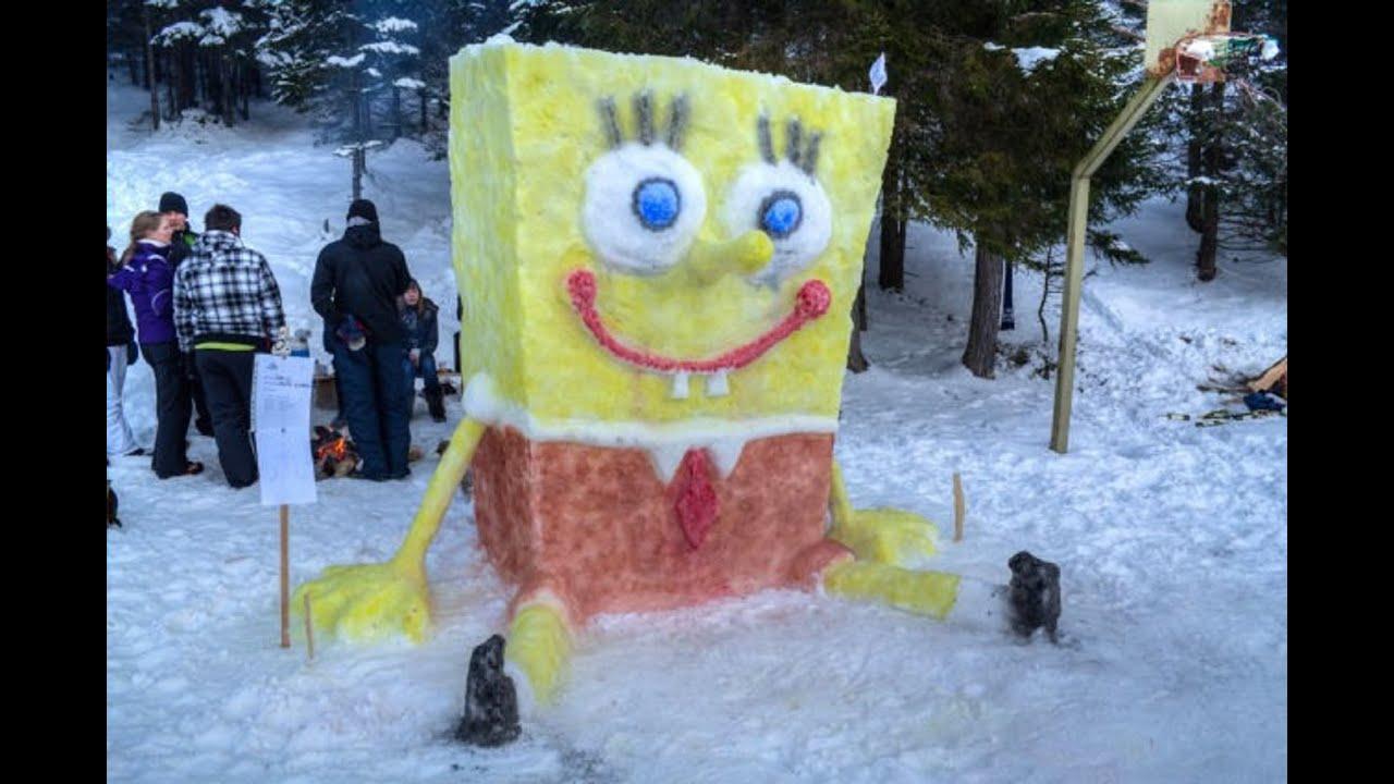 Какие фигуры из снега можно сделать фото фото 848