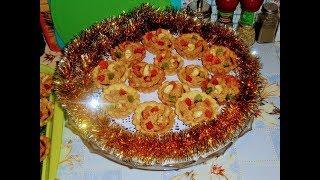 Постная выпечка. Пирожное корзинка с начинкой орехи,инжир,хурма.