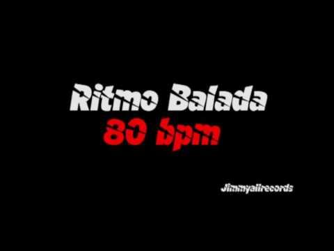 Ritmo Balada 80 bpm -Ballad rhythm 80 bpm