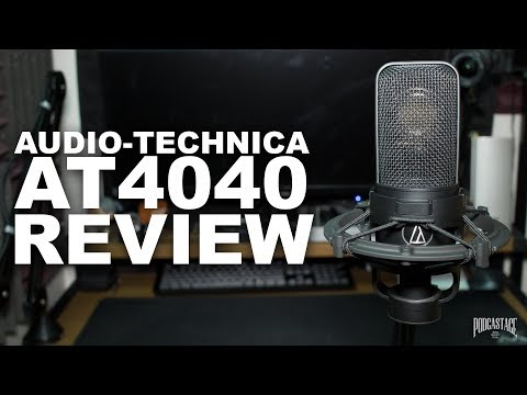 Audio-Technica AT4040 Condenser Mic Review / Test