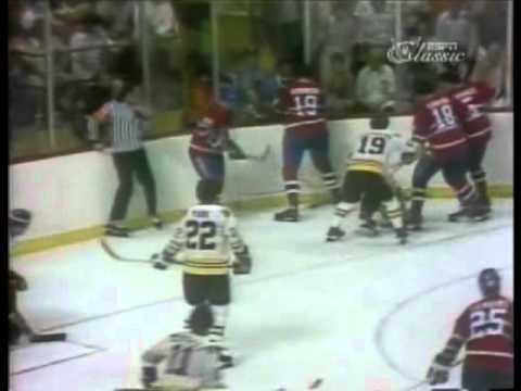 1978 Stanley Cup Finals - Montreal Canadiens @ Boston Bruins, game 4 regulation finish