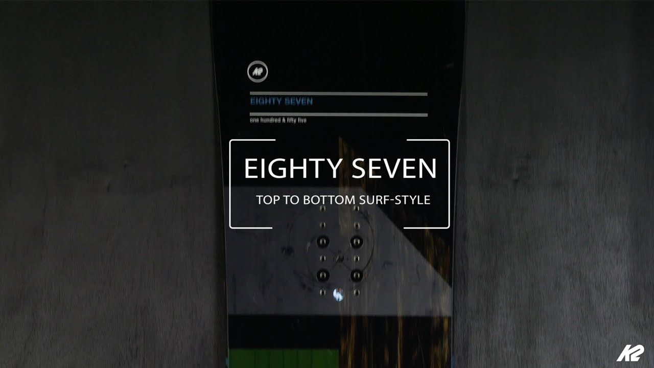 K2 Eighty Seven | 2019 Snowboards