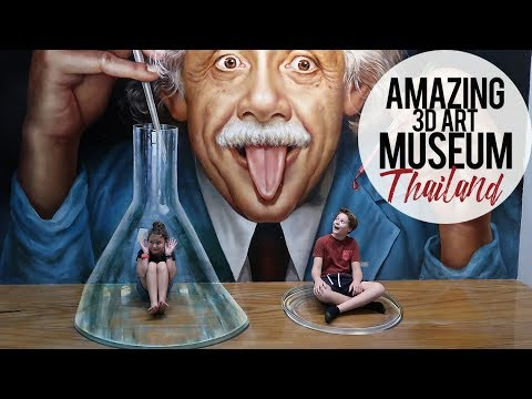 MIND BLOWING Art Museum | Pattaya, Thailand