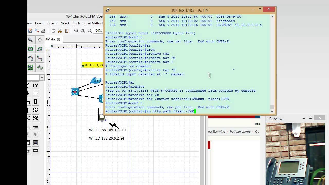8 1 Web Interface Cisco IP Phone 7960