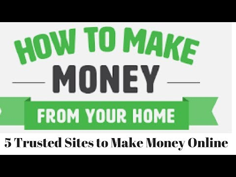5 Trusted Websites to Do Mini Jobs Online - Make Money from Home 2017